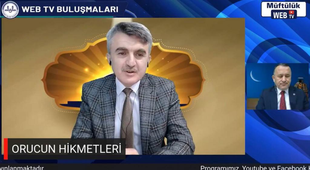 Prof. Dr. Kazım Uysal Orucun Hikmetleri Konulu Seminere Katıldı