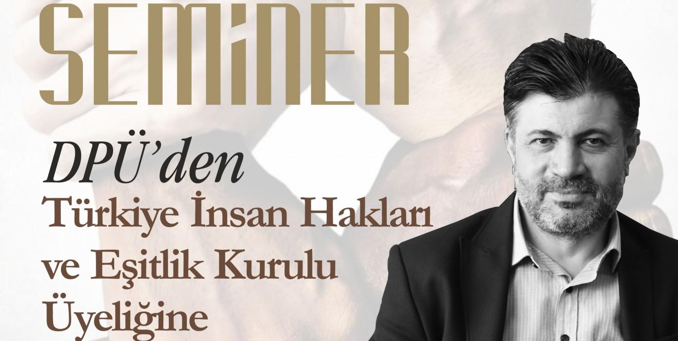 Gençlik Buluşmaları / Başarı Öyküleri / Dpü'den Türkiye İnsan Hakları ve Eşitlik Kurulu Üyeliğine