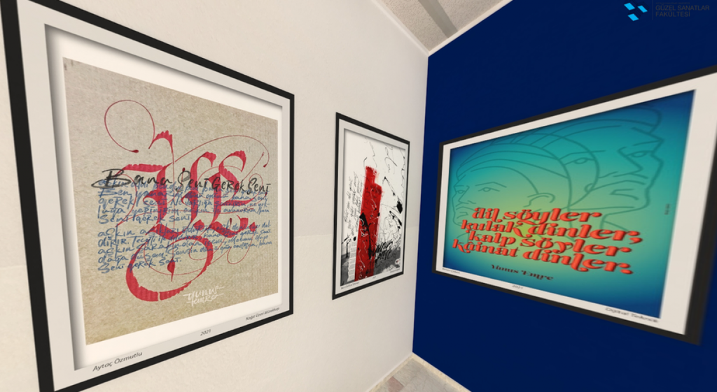 DPÜ'de Yunus Emre Anısına Uluslararası Kaligrafi ve Tipografi Sergisi