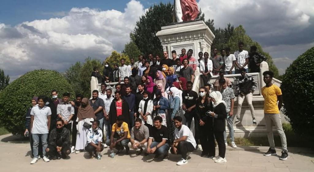 DPÜ'nün Uluslararası Öğrencilerinden Dumlupınar'a Ziyaret