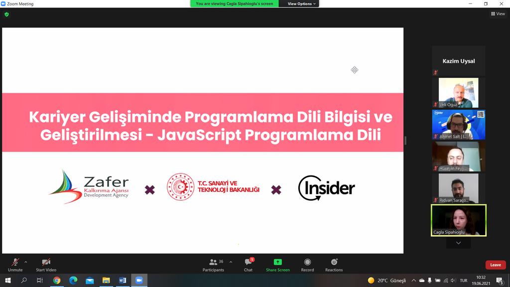 DPÜ'nün Programlama Dili Bilgisi ve Geliştirilmesi Projesi Tanıtıldı