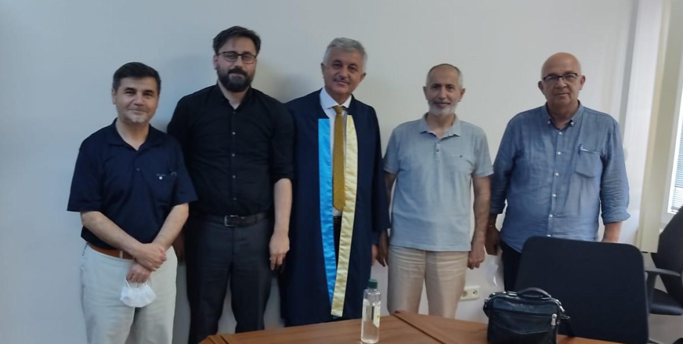 Öğr. Gör. Mehmet Emin Yağcı Doktorasını Tamamladı