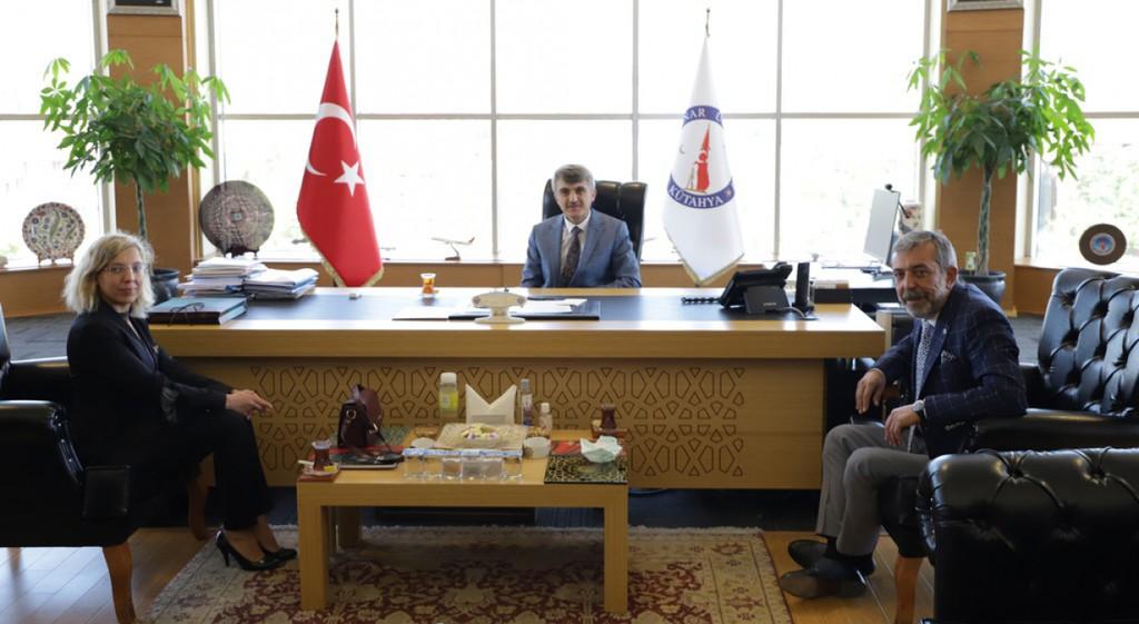 Kütahya Baro Başkanlığından Rektörümüze Ziyaret