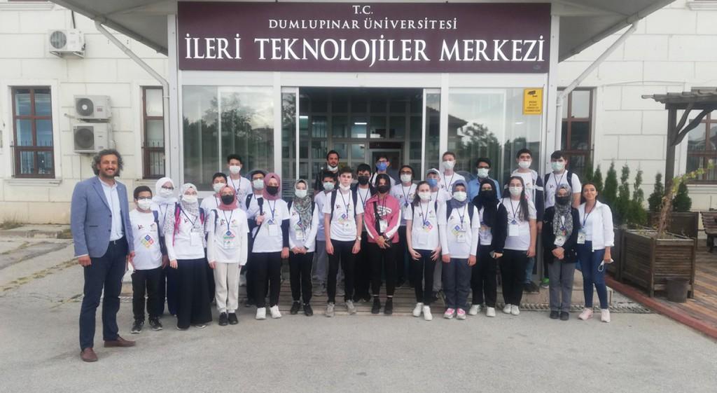 Kütahya BİLSEM Öğrencilerinden DPÜ İLTEM'e Ziyaret
