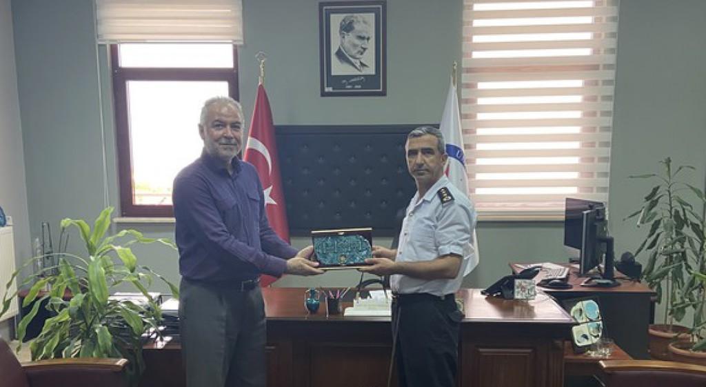 İl Jandarma Komutanı Kırbaç'tan DPÜ GSF'ye Ziyaret