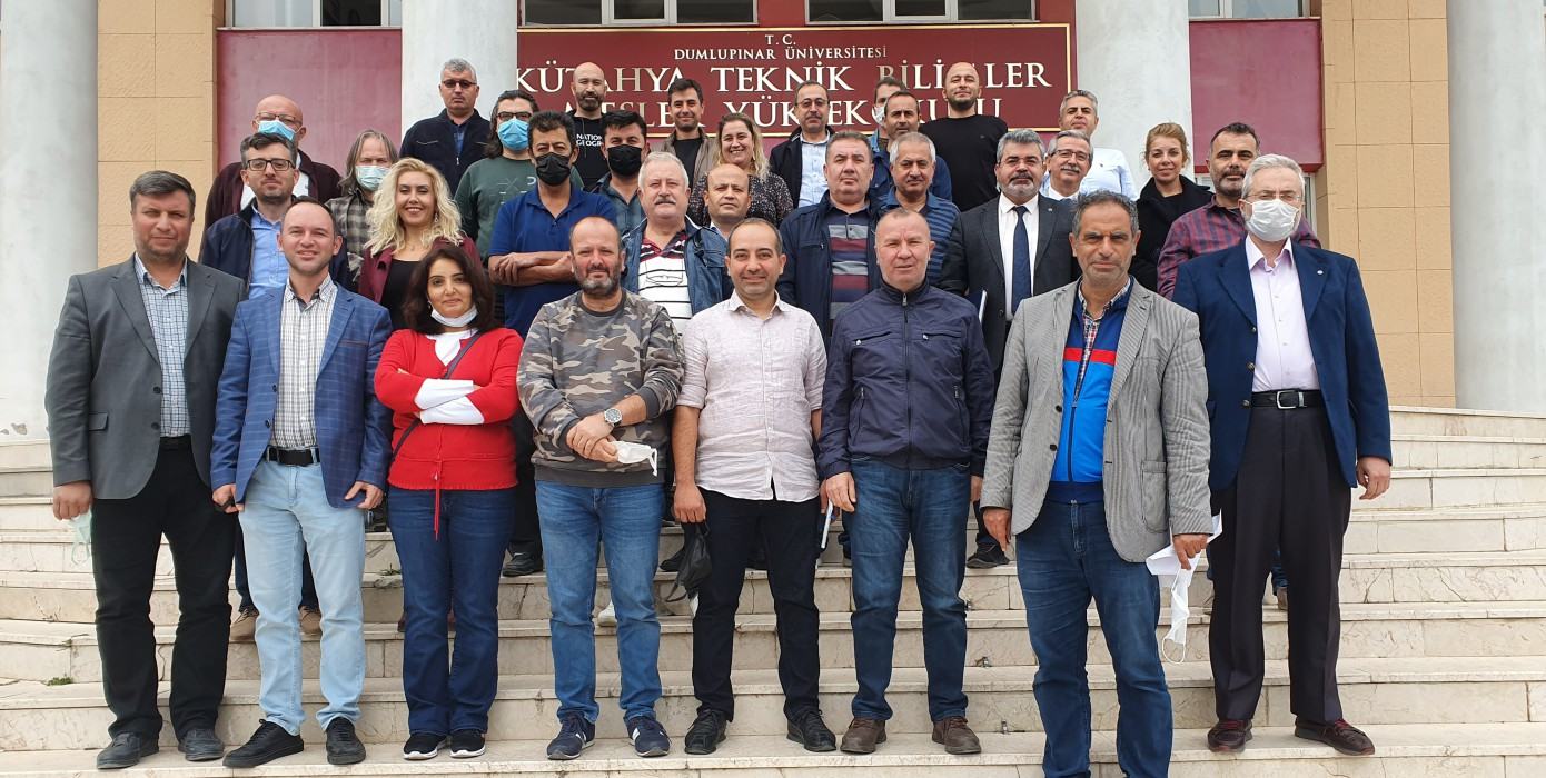 Meslek Yüksekokulumuz Akademik Kurul Toplantısı Yapıldı.