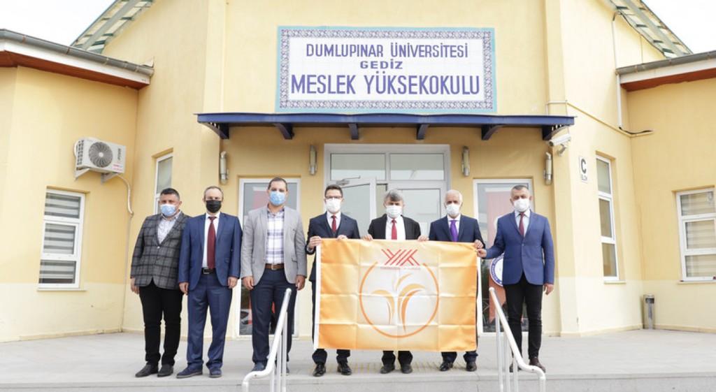 Gediz ve Simav'daki Binalarımız Turuncu Bayraklarını Aldı